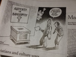 Austerita or Bankruptcy