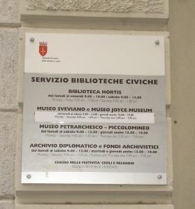 Museo Sveviano & Joyce