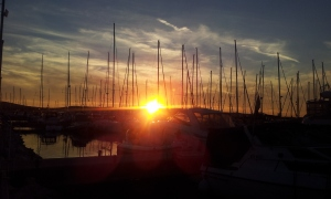 Sonnenuntergang Marina